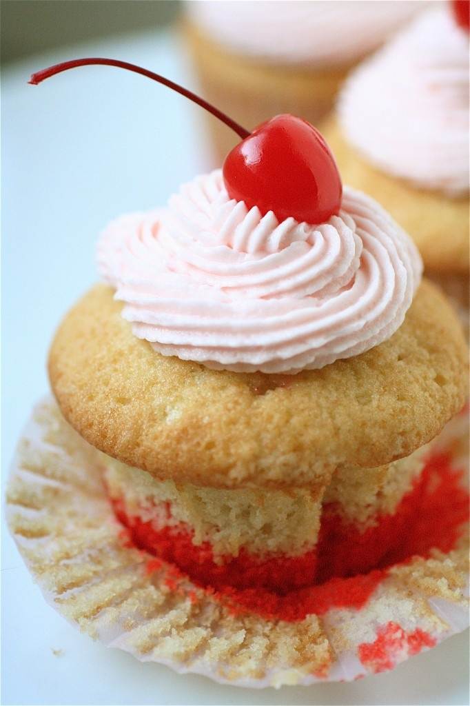Shirley Temple Cupcakes!