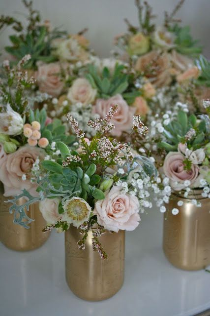 13 Most Beautiful Mason Jar Centerpieces
