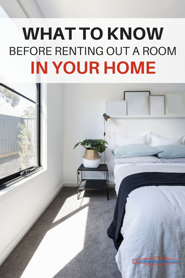 What To Know Before Renting Out A Room In Your Home Renting Out