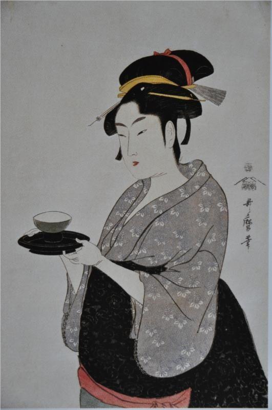 Flowers Of Edo - Kitagawa Utamaro - WikiArt.org