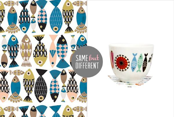 { SAME BUT DIFFERENT / 02 } | The Sweet Escape #fish #pattern