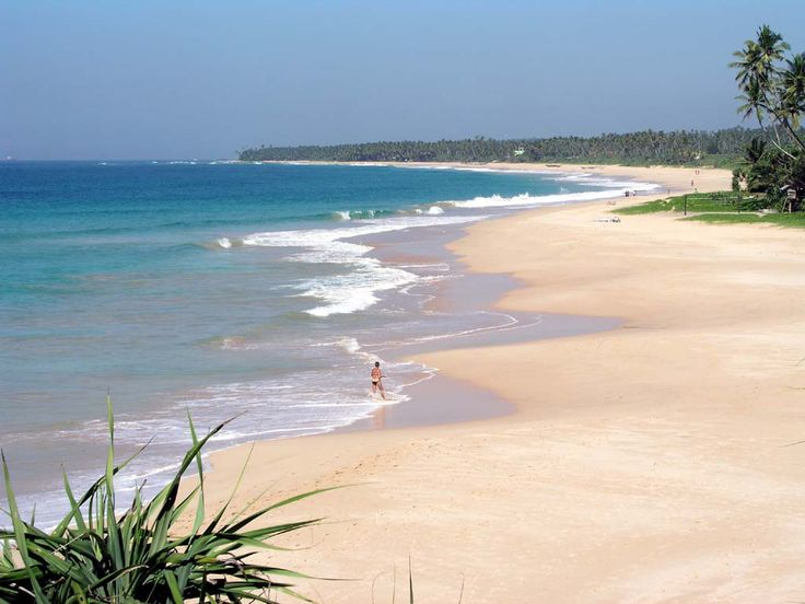 4- Direction le Sri Lanka pour découvrir Koggala Beach. L'endroit est plutôt fréquenté, mais il s'agit de l'une des plus belles plages du pays.