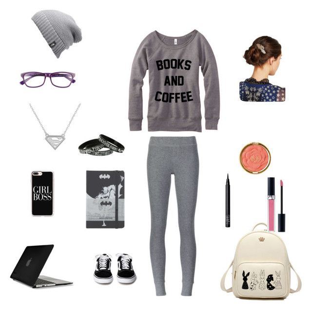 """""""Writer style"""" by lightgaze on Polyvore featuring ATM by Anthony Thomas Melillo, Corinne McCormack, The North Face, Speck, Casetify, Milani, NARS Cosmetics, Christian Dior, Marc Jacobs and Moleskine"""