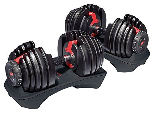 Bowflex SelectTech 552 Adjustable Dumbbells (Pair) – Barbell Academy