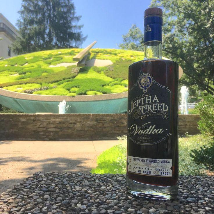 Blueberry Vodka Jeptha's Blueberry Vodka visiting Kentucky's capital - Frankfort!