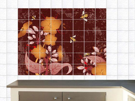Küchenkacheln überkleben 20 best fliesenaufkleber images on
