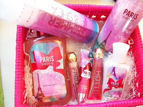 bed bath and body works paris amour