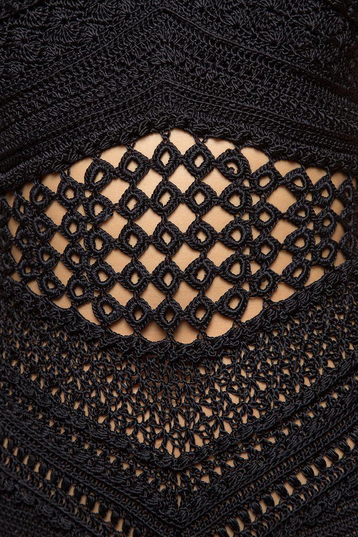 Body Crochet Gold Coast Preto - Vanessa Montoro - vanessamontoro
