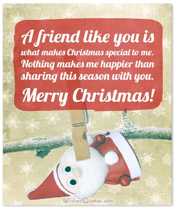 Christmas Messages For Friends And Family By