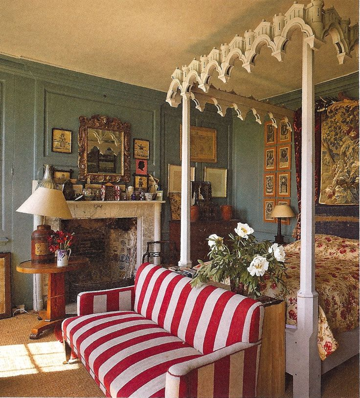 Gothic revival style Country LIfe Magazine May