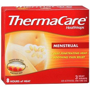 #thermacare Good for cramps of all kinds: pre-menstrual, the actual thing, or post-difficult-bathroom-trip. Can be re-stuck a few times if needed. I keep at least one with me all the time. I've found that the adhesive on the generic brand version just doesn't work. #period #ibs #cramps