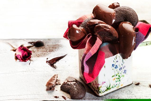 Μοναδικοί σοκολατένιοι κουραμπιέδες