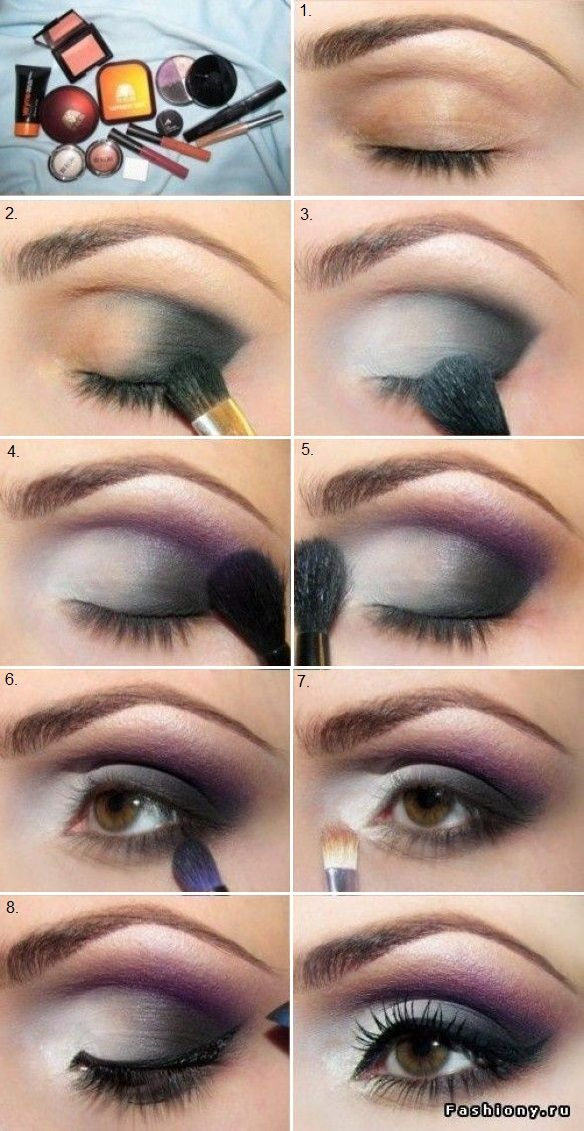 Seductive Makeup You Can Do With Any Color with the black and white.. easy!!
