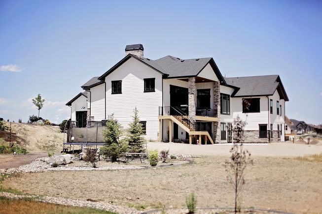 1000 images about colorado exterior on pinterest - Rustic modern farmhouse exterior ...