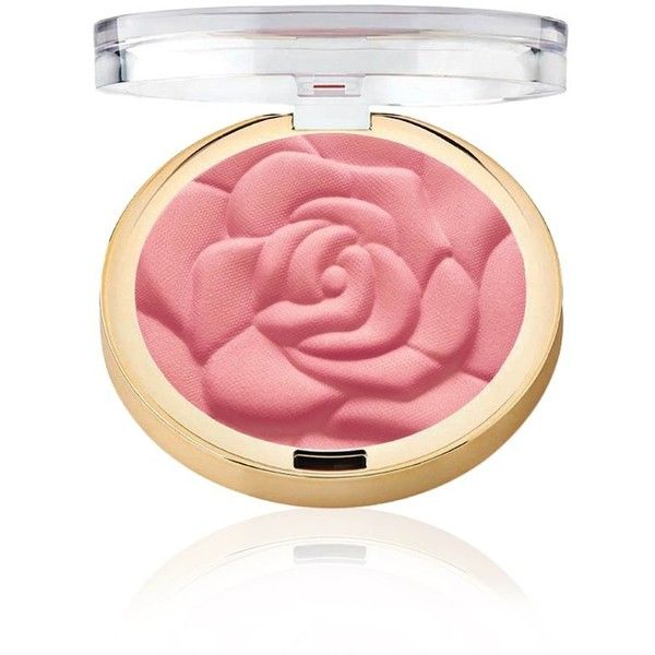 Rose Powder Blush ($9) ❤ liked on Polyvore featuring beauty products, makeup, cheek makeup, blush and powder blush
