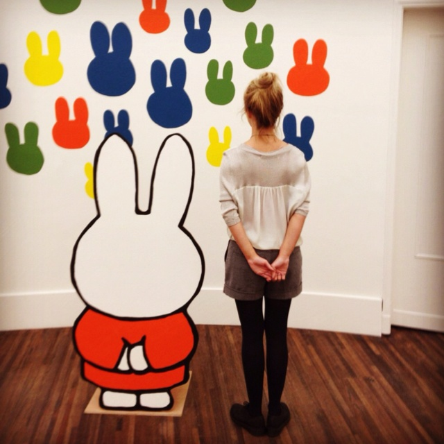 Miffy in the gallery