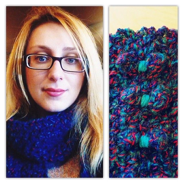 Crochet scarf for Aton, by fountaki! Beautiful colors for magic eyes!!!