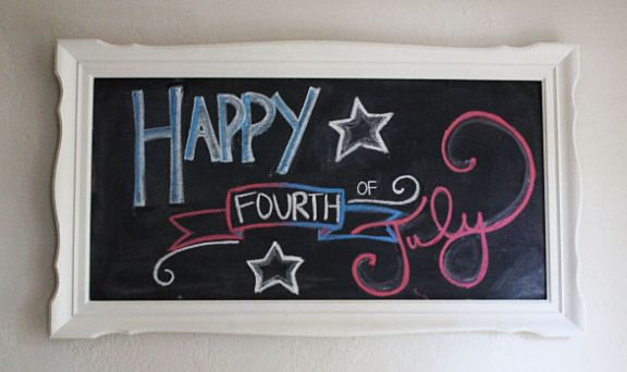 Fourth of July Chalkboard!