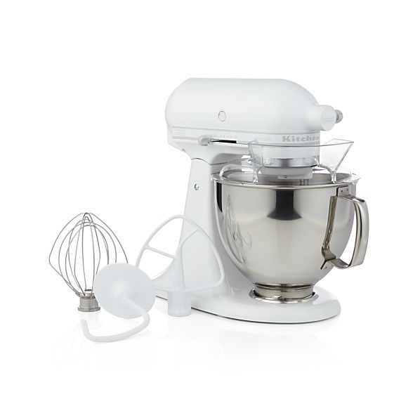 this heavy duty mixer in fresh white has kitchenaid power and planetary mixing action that. Black Bedroom Furniture Sets. Home Design Ideas
