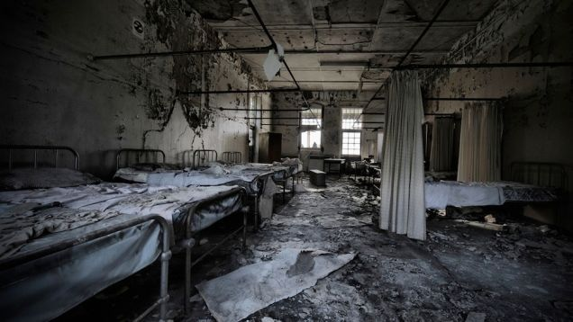 10 Scariest Abandoned Hospitals In The World Abandoned Hospital