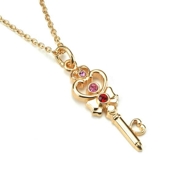 Official Japanese Premium Bandai Sailor Moon Time Space Key http://www.moonkitty.net/reviews-buy-sailor-moon-jewelry.php #SailorMoon