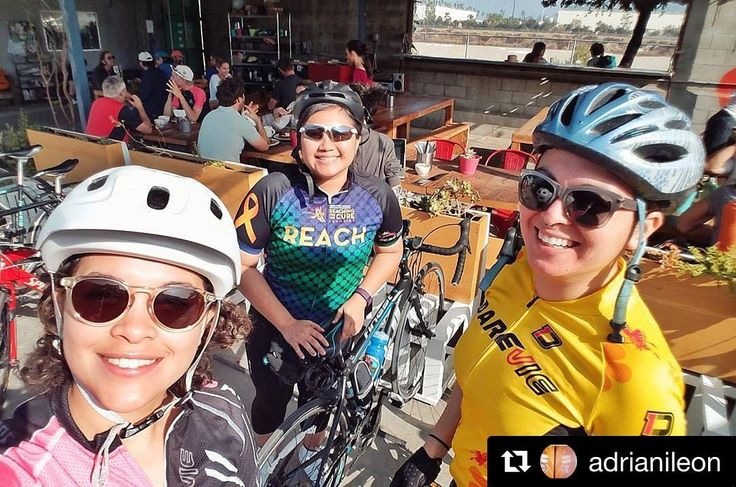 Had such a great weekend with you all!! Anyone interested in bike maintenance workshop for women cyclists? Please comment below!  Repost @adrianileon  Girl bike gang!!