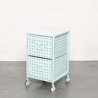 Buy Melanie Industrial Cabinet (Blue) | Storage Solutions - Retrojan