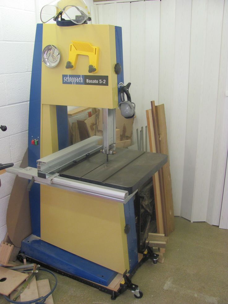 My Scheppach Basato band saw