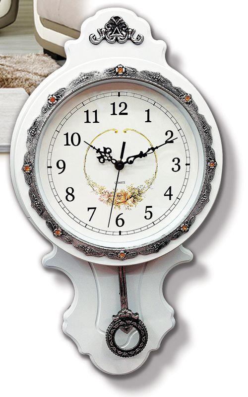 Ahşap Rumeli Sarkaçlı Duvar Saati  Ürün Bilgisi ;  Ürün maddesi : Plastik Ebat : 60 cm x 34 cm Mekanizması : Akar saniye, sessiz çalışır Garanti : Saat motoru 5 yıl garantili Zengin görünüm Üretim  : Yerli üretim Kullanım ömrü uzundur Ahşap Rumeli Sarkaçlı Duvar Saati Kalem pil ile çalışmakta Ürün fotoğrafta görüldüğü gibi olup orjinal paketindedir Sevdiklerinize hediye olarak gönderebilirsiniz