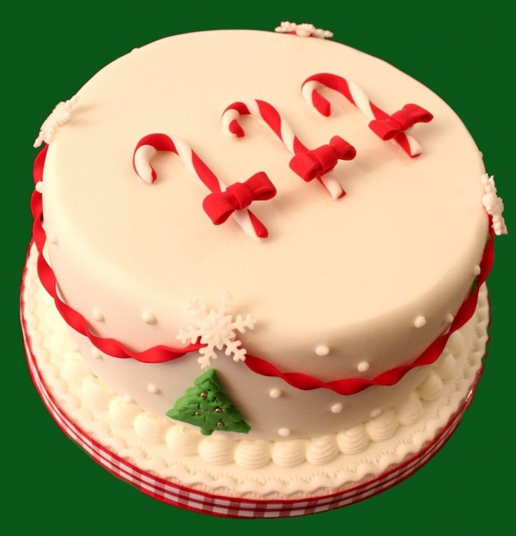 1000+ images about Christmas cake on Pinterest