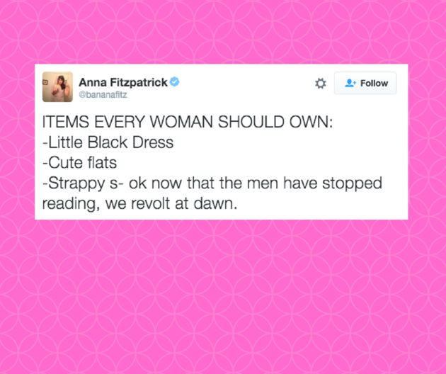 The ladies of Twitter never fail to brighten our days with their brilliant — and succinct — wisdom. Each week, HuffPost Women rounds up hilarious 140-character musings. To celebrate 2016, we've rounde...