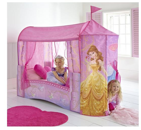 For the Princess... Disney Princess Feature Toddler Bed |