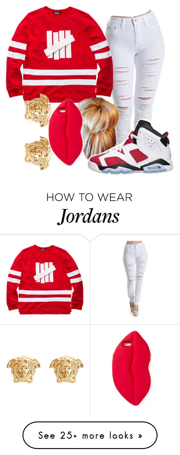 """""""Undefeated"""" by carameldelightboo on Polyvore featuring STELLA McCARTNEY, Retrò and Versace"""