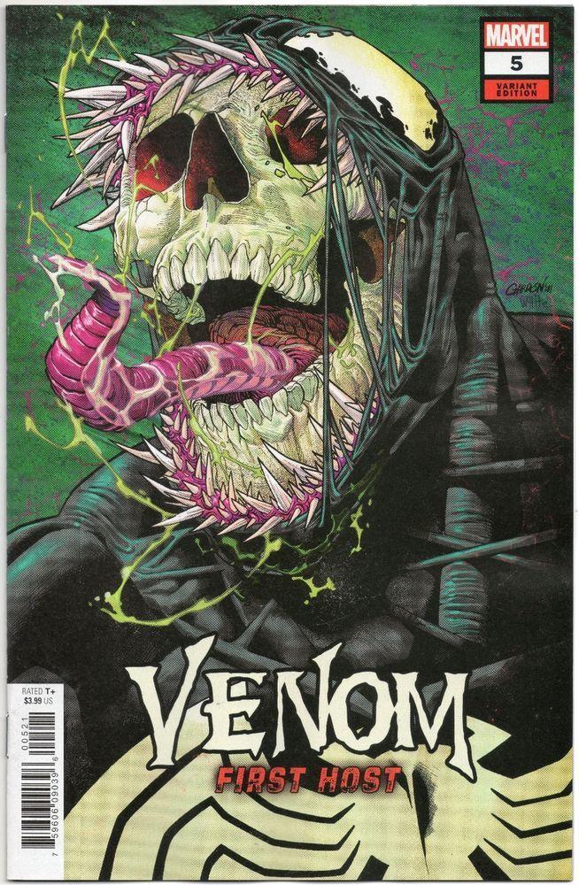 Venom First Host #5 / Javier Garron Variant Cover / Donny