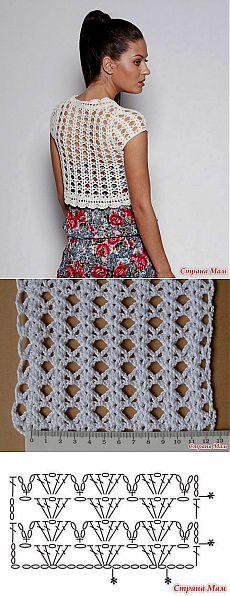 Model de tricotat bolero - Țara Mamă