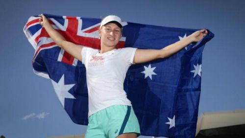 Dasha puts Aussies 1-0 up in Hopman Cup final #DariaGavrilova...