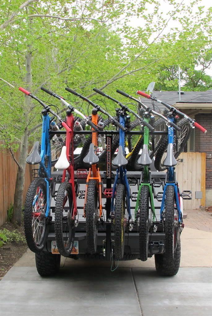 Anyone have a North Shore 4 bike rack mountainbikeshirt