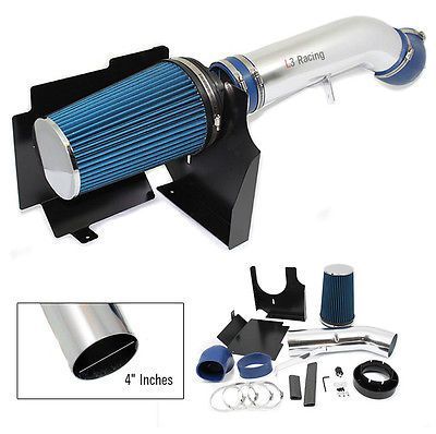 99-07 Silverado 1500 V8 HD COLD SHIELD AIR INTAKE KIT+ BLUE FILTER