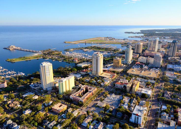 8. St. Petersburg, FL ESB Professional// Shutterstock