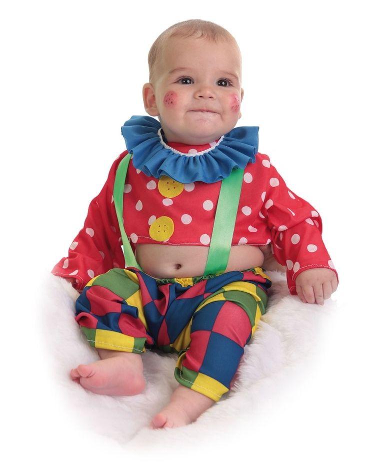#disfraz #payaso #bebe #baby