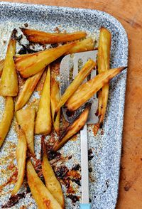 Honey-roast parsnips