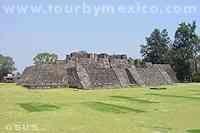 Cuernavaca Teopanzolco Archaeological site in Cuernavaca, Morelos, Mexico