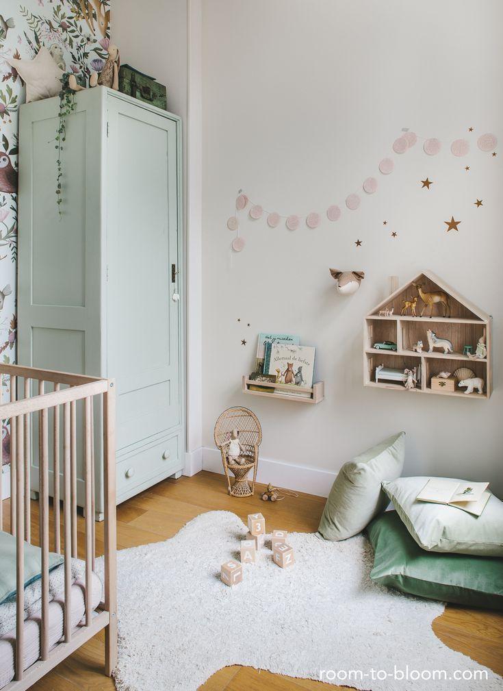 Natuurlijke babykamer
