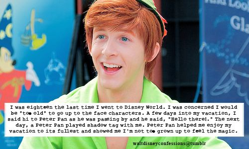 peter pan disneyland tumblr - Google Search