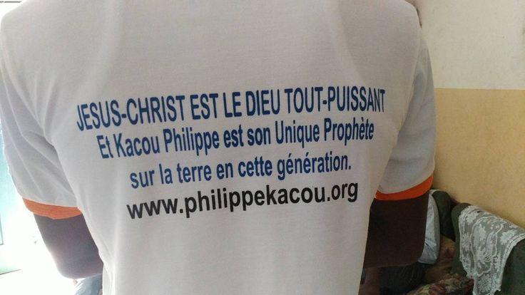 #Jésus #Christ est #Dieu. @prophet_kacou est son #seul #Vrai #Prophète en cette #génération. http://ift.tt/1j8sBij #ProphetKacouPhilippe