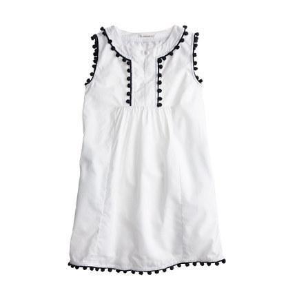 j. crew pompom dress
