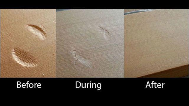 木製の床や家具のへこみを簡単に元通りにする方法 - DNA …