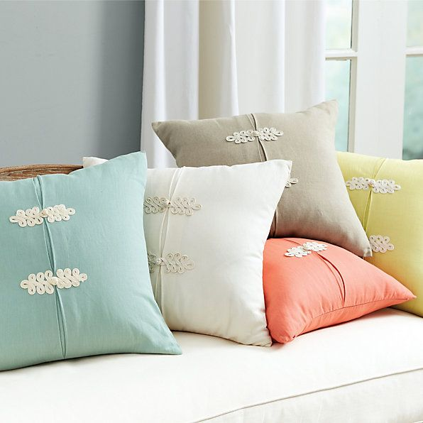 Kiki Frog Knot Pillow | Ballard Designs