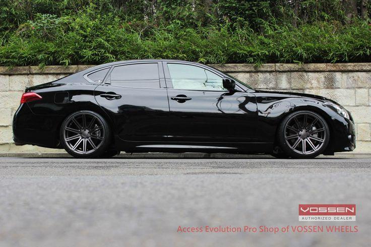 "Nissan Fuga/USDM Infiniti M37 with 20"" CV4's by Mondera Japan  http://monderajapan.com"
