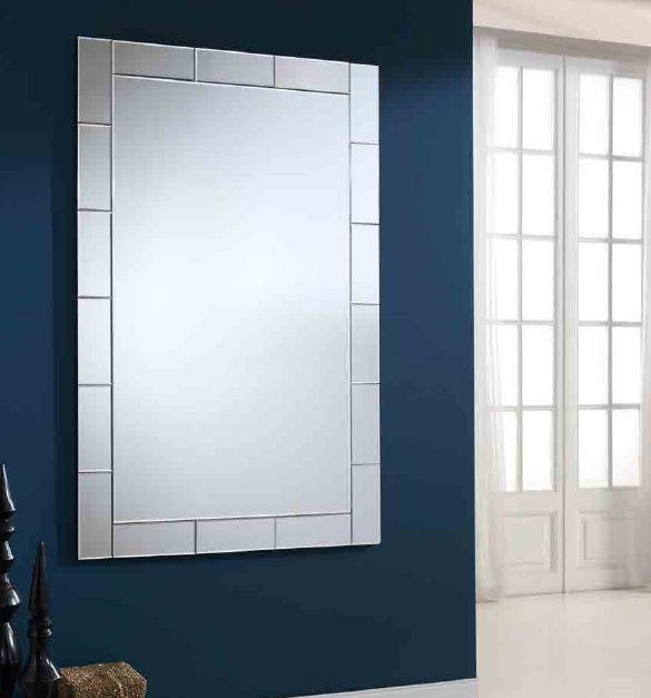 Espejos con lunas de cristal CALIMA. Espejos de pared de diseño.